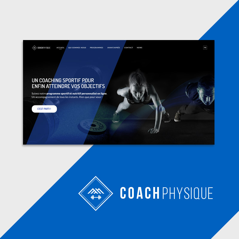 Coach physique - Logotype