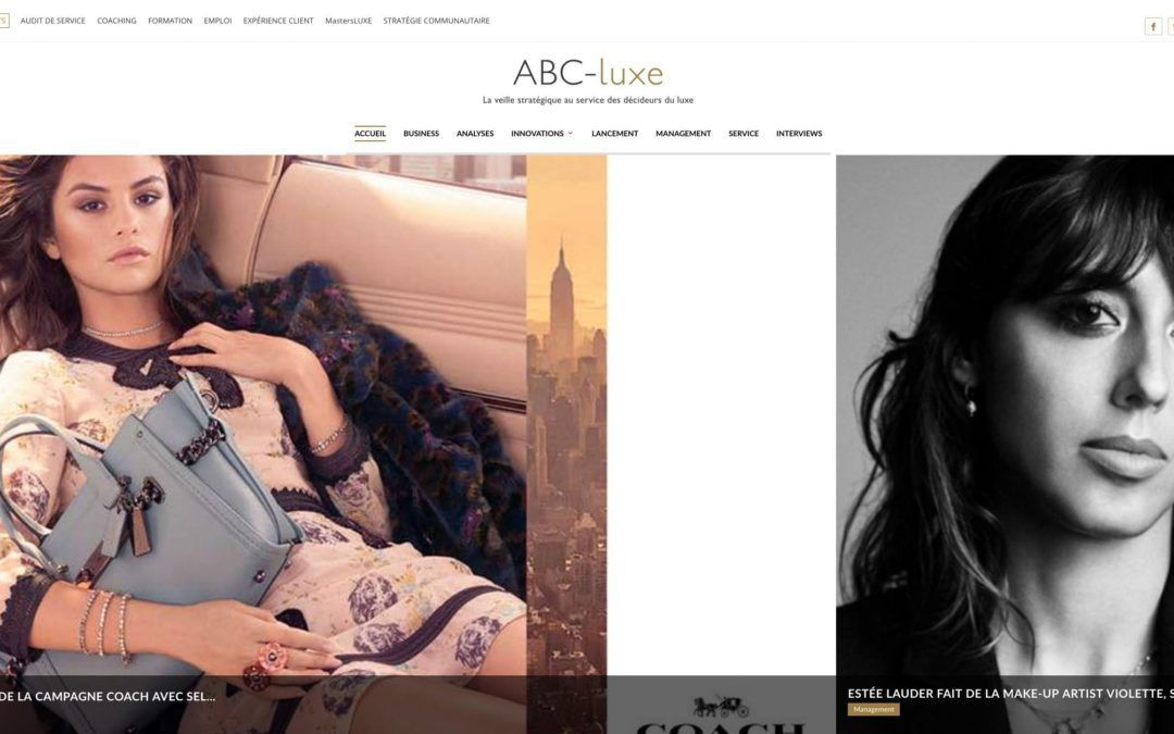 ABC-Luxe | Site web