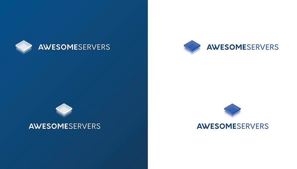 AWESOME SERVERS | Logotype