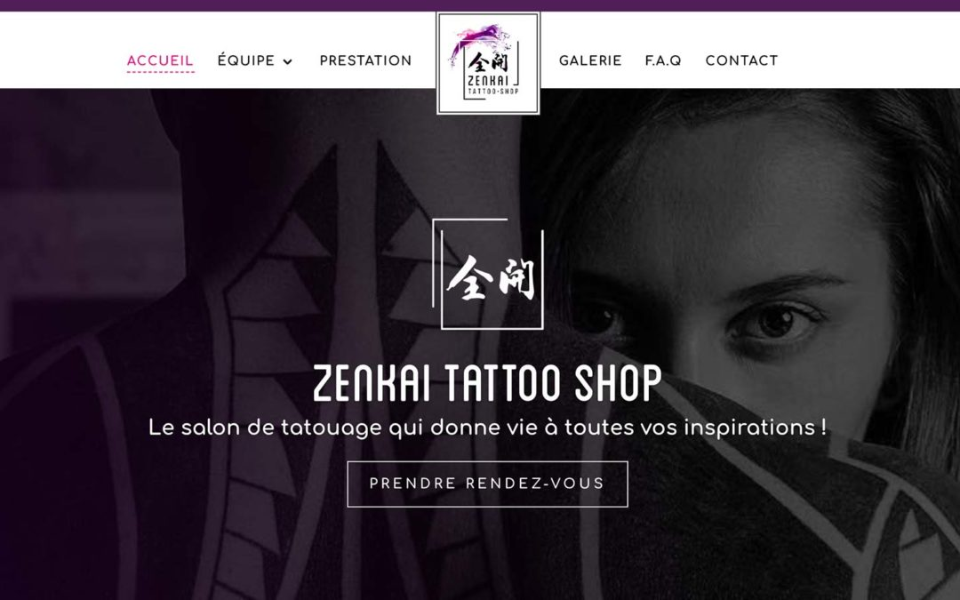 ZENKAI TATTOO SHOP | Site web